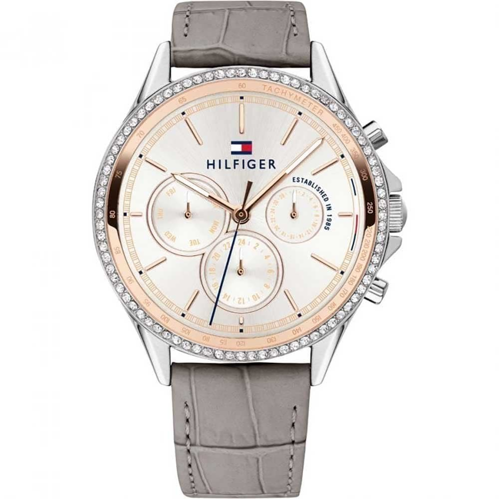 Ladies  Grey Leather Ari Watch 1781980 - Watches from Hillier ... d1923bd58012