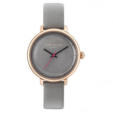 Ladies' Grey Leather Isla Watch TE10031534