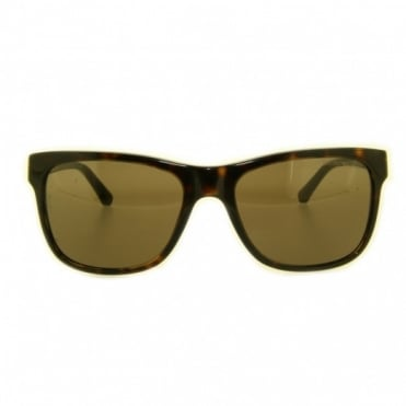 Ladies Havana Sunglasses EA4002 502673 55