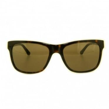 Emporio Armani Ladies Havana Sunglasses EA4002 502673 55