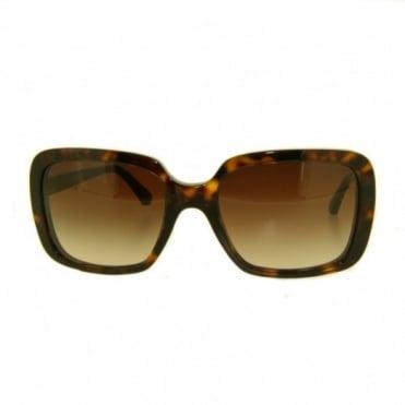 Emporio Armani Ladies Havana Sunglasses EA4007 502613 54