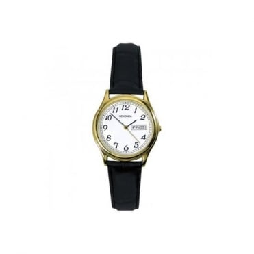 Ladies' Leather Strap Watch 4925
