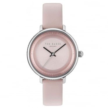 Ladies' Pink Leather Isla Watch TE10031533