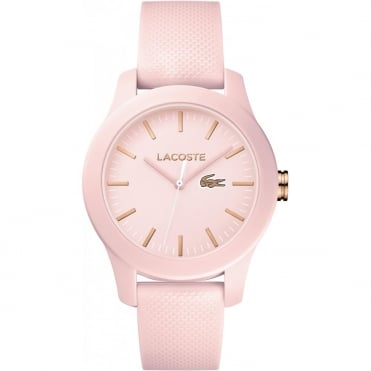 Ladies' Pink Rubber 12.12 Watch 2001003
