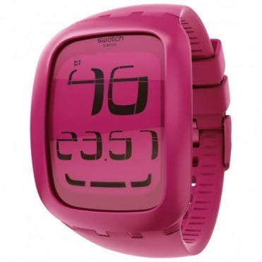 Ladies' Pink Touch Alarm Chrono Watch SURP100
