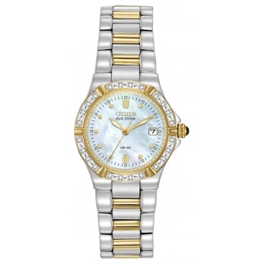 Ladies' Riva Diamond Eco-Drive Watch EW0894-57D