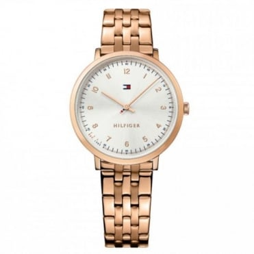 Tommy Hilfiger Ladies' Rose Gold Plate Pippa Watch 1781760