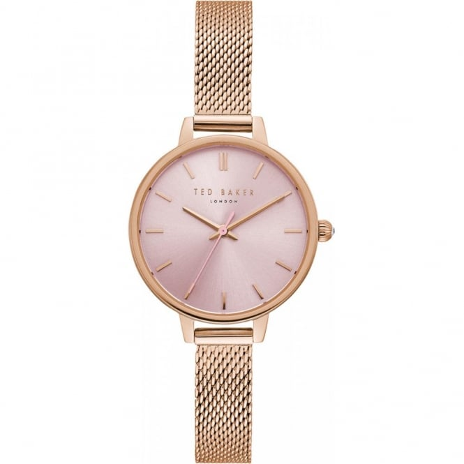 Ladies' Rose Gold Plated Kate Watch TE50070004