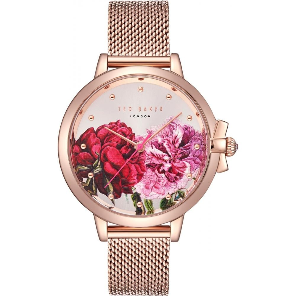 4d539d19c Ladies  Rose Plate Floral Dial Ruth Watch TE50267009 - Ladies ...
