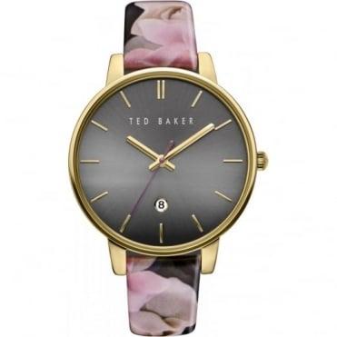 Ted Baker Ladies' Rose Plate Floral Print Watch TE10030696