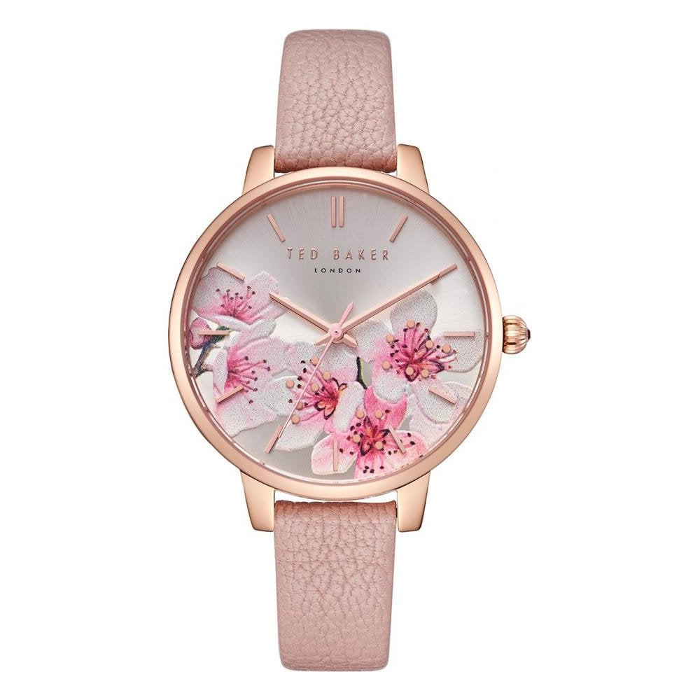 64437665d Ladies  Rose Plate Leather Strap Kate Watch TE50272004 - Watches ...