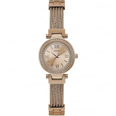 Ladies' Rose Plate Mini Soho Watch W1009L3