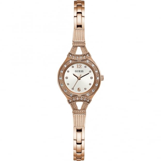 Ladies' Rose Plate Stone Set Madeline Watch W1032L3