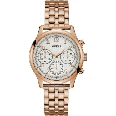 Ladies' Rose Plate Taylor Watch W1018L3