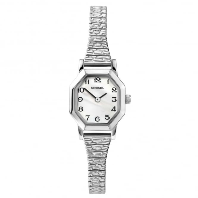 Ladies' S/Steel Expanding Strap Watch 4623