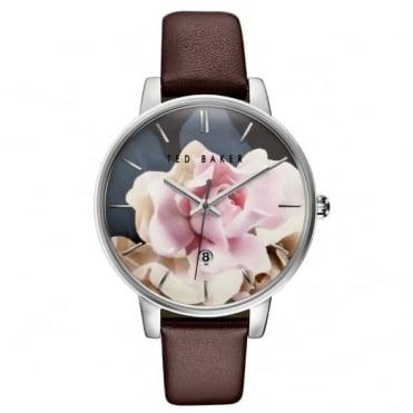 Ted Baker Ladies' S/Steel Floral Dial Watch TE10030692