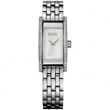 Hugo Boss Ladies' S/Steel Stone Set Cocktail Watch 1502388