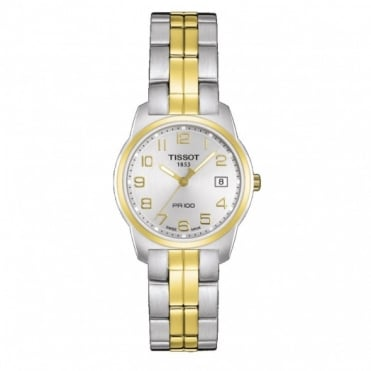 Tissot Ladies S/Steel T-Classic PR100 Watch T049.210.22.032.00