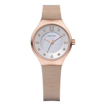 Ladies' Solar Rose Gold Watch 14427-366