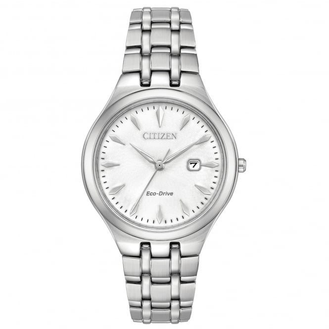 Ladies' Stainless Steel Eco-Drive Corso Watch EW2490-55A