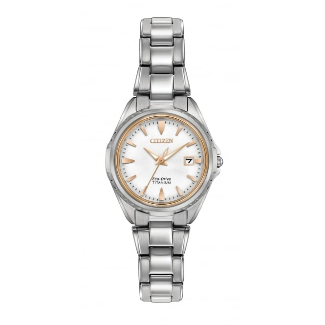 Ladies' Titanium Eco-Drive Watch EW2410-54A