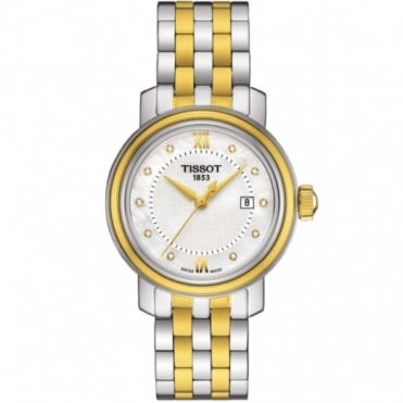 Tissot Ladies Two Tone T-Classic Bridgeport Watch T097.010.22.116.00