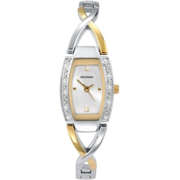 Ladies' Two Tone Watch 4605