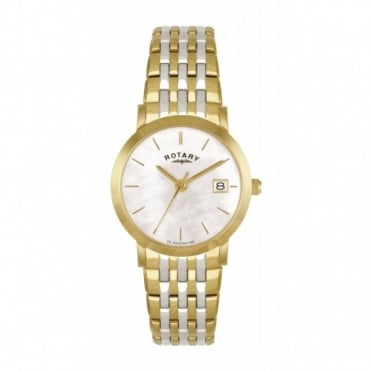 Rotary Ladies Two Tone Watch LB02623/41