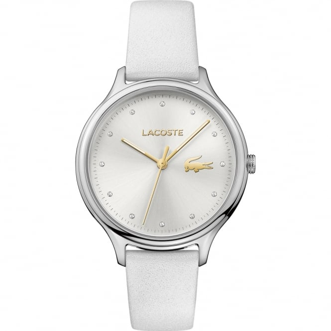 Ladies' White Leather Constance Watch 2001005