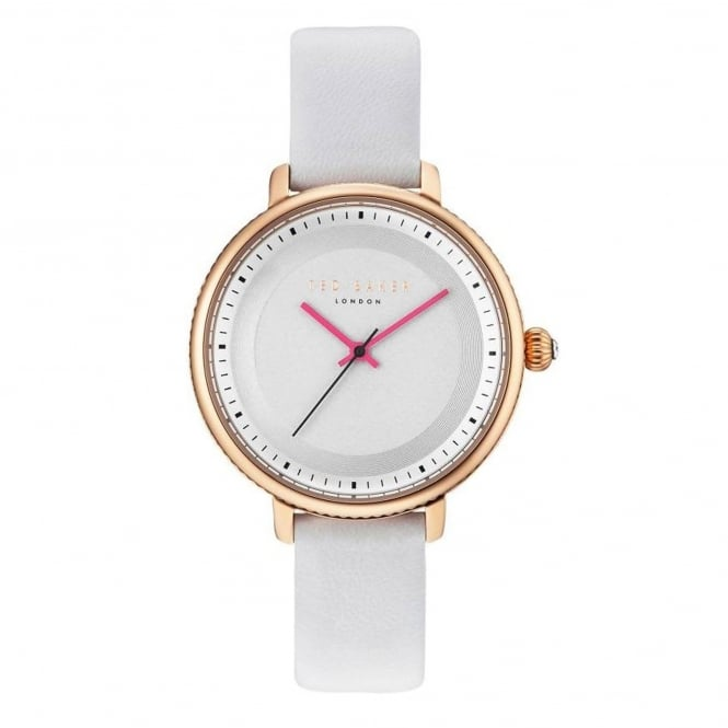 Ladies' White Leather Isla Watch TE10031529