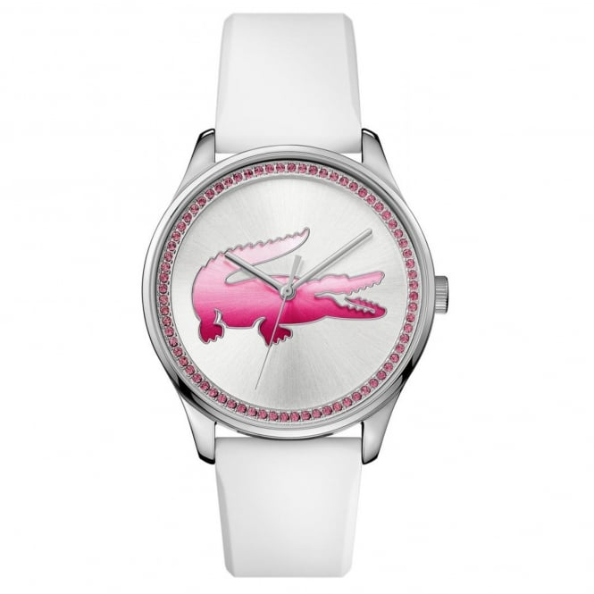 Ladies' White Rubber Victoria Watch 2000970