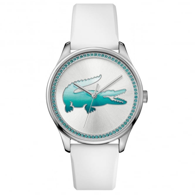 Lacoste Ladies' White Rubber Victoria Watch 2000971
