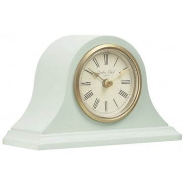 London Clock Company Matte Green Napoleon Mantel Clock 03136