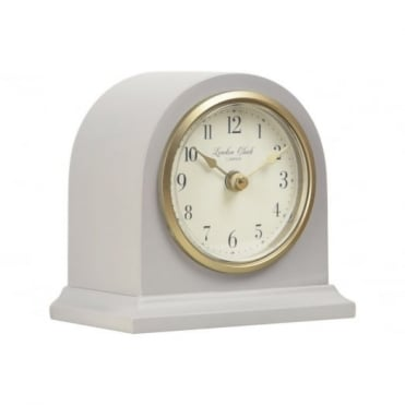 London Clock Company Matte Grey Mantel Clock 03134
