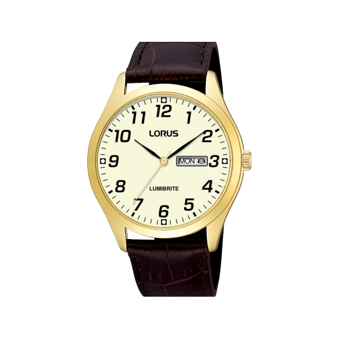 Gent's Gold Plate Lumibrite Watch RJ650AX9