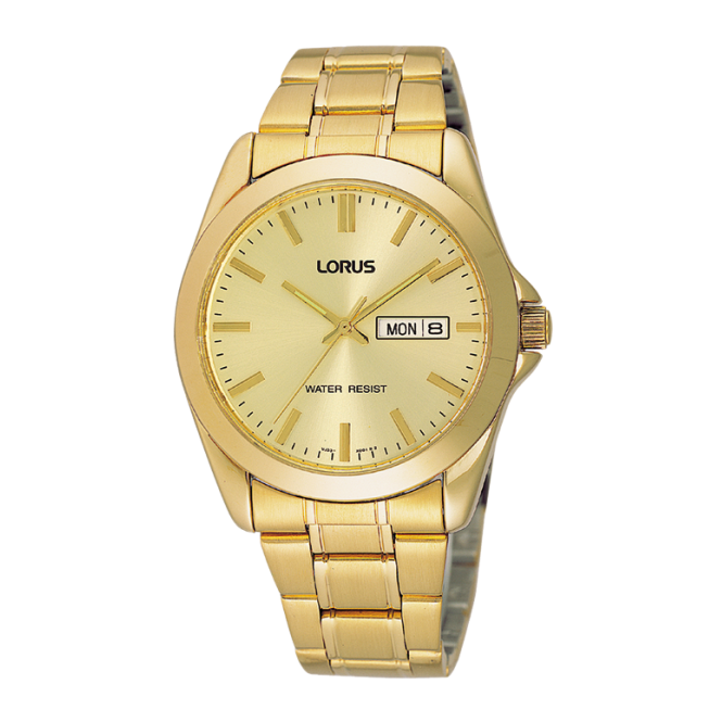 Gent's Gold Plated Watch RJ608AX9