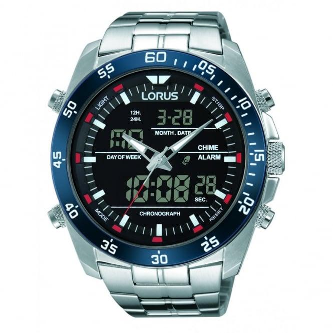 Lorus Gent's S/Steel Duo Watch RW623AX9