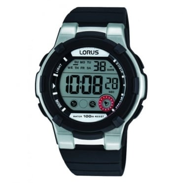 Lorus Kids Kids Black Digital Watch R2353KX9