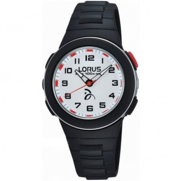 Kid's Black Plastic Watch R2365KX9