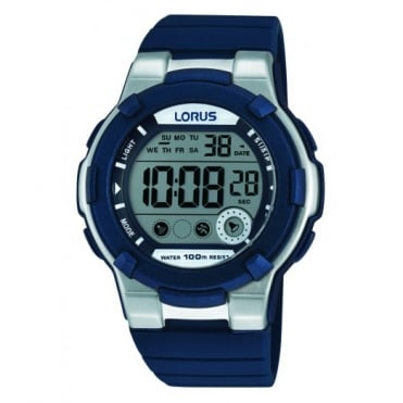 Lorus Kids Kids Blue Digital Watch R2355KX9