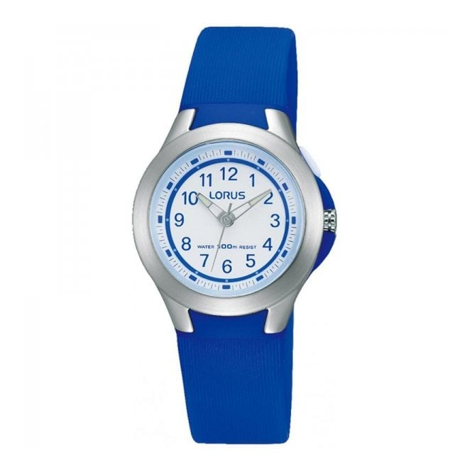 Lorus Kids Kids Blue Plastic Watch R2399JX9