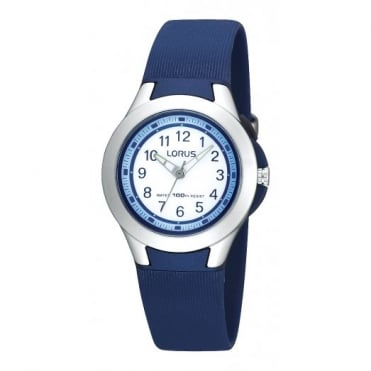 Lorus Kids Kids Blue Silicone Illuminator Watch R2307FX9