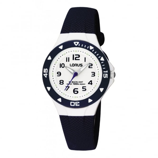Kids Blue Silicone Illuminator Watch RRX43CX9