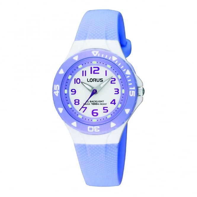 Lorus Kids Kids Lilac Illuminator Watch RRX51CX9