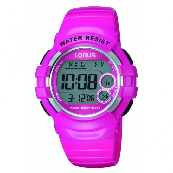 pink digital r2325kx9 watches from hillier