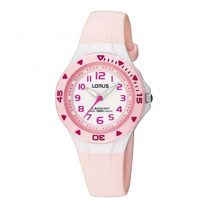 Lorus Kids Kids Pink Illuminator Watch RRX49CX9