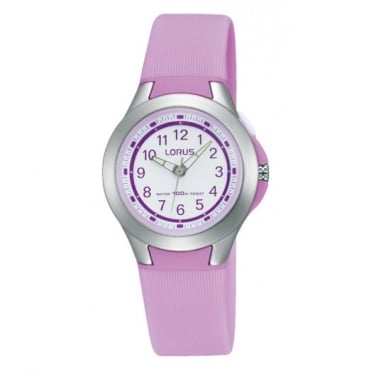 Kids Pink Plastic Watch R2301KX9
