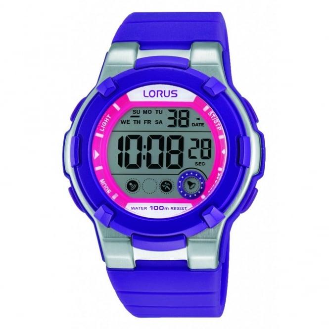 Lorus Kids Kids Purple Digital Watch R2361KX9
