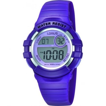 Lorus Kids Kids Purple Digital Watch R2385HX9