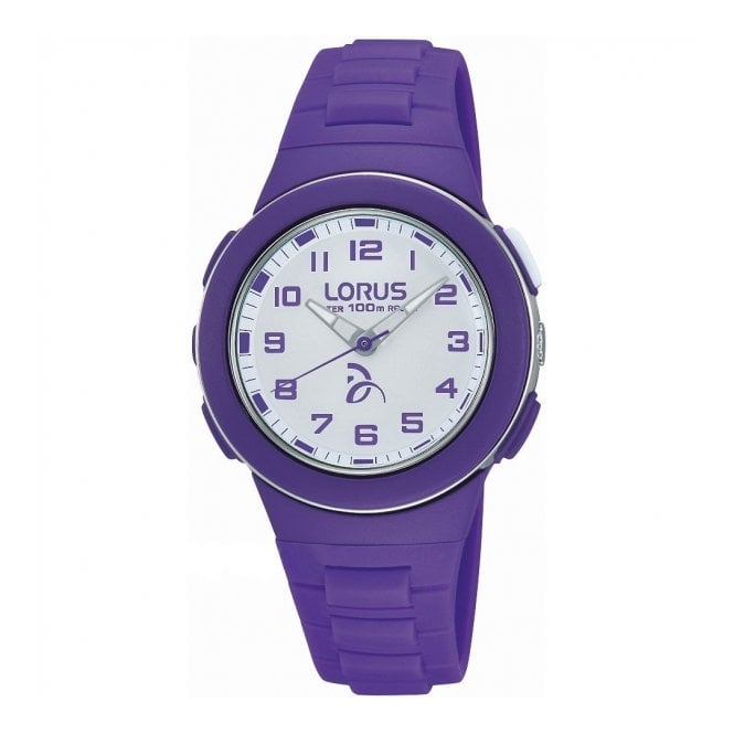 Lorus Kids Kid's Purple Plastic Watch R2371KX9